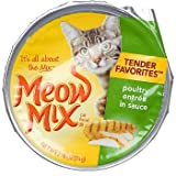 Cheap Meow Mix Market Select Poultry Entree in Gravy Cat Food 2.75 oz (Pack of 24)