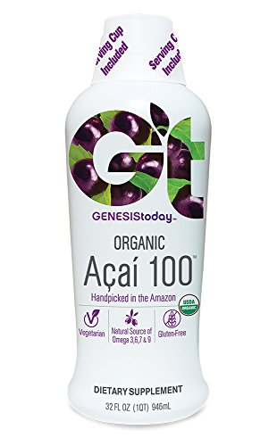 Genesis Today, Organic Acai 100, 32 Ounce