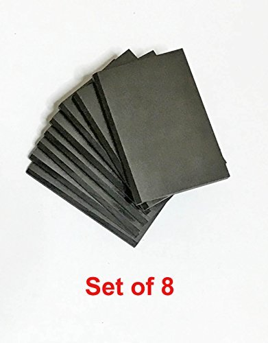 Carbon Vanes / Blades 901317 for Becker DVT 140 DVT140 Vacuum Pump K14 x8 (set of 8 pieces)