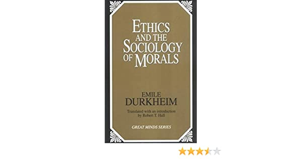Sociological Ethics