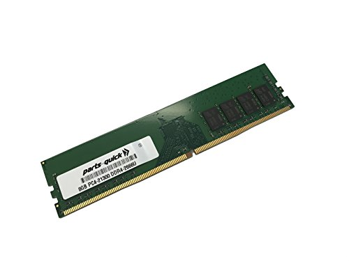 8GB Memory for MSI Motherboard Z370M MOTAR DDR4 PC4-21300 2666MHz Non-ECC Unbuffered DIMM RAM (PARTS-QUICK Brand) -  8GB-DDR4-2666-D-MSI-3511