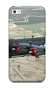 AnnaSanders Case Cover Protector Specially Made For Iphone 5c Consolidated B24 Liberator B Man Made Aircraft