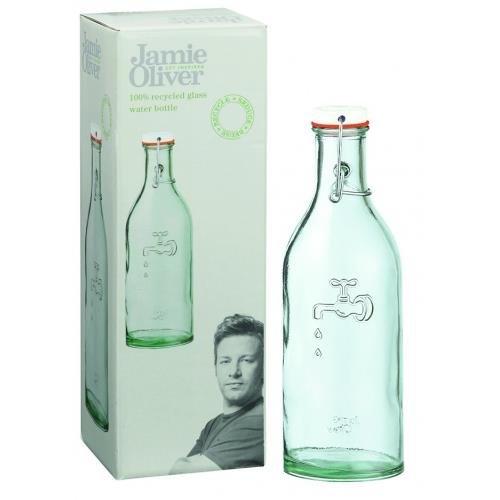 Jamie Oliver Wasserflasche + 1 Glas: Amazon.de: Küche & Haushalt