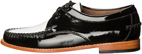 G.H. Bass & Co. Women's Winnie Tuxedo Loafer, Black/White, 9 M US by G.H. Bass & Co. (Image #5)