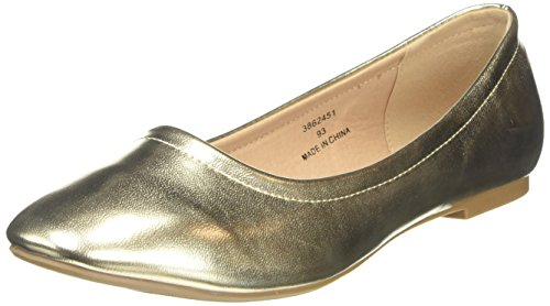 Gold Donna Ballerine 93 Oro Look Jolene New Bqx80f