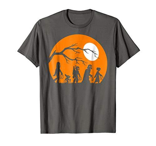 Star Wars Trick Or Treat Halloween Silhouette T-Shirt ()