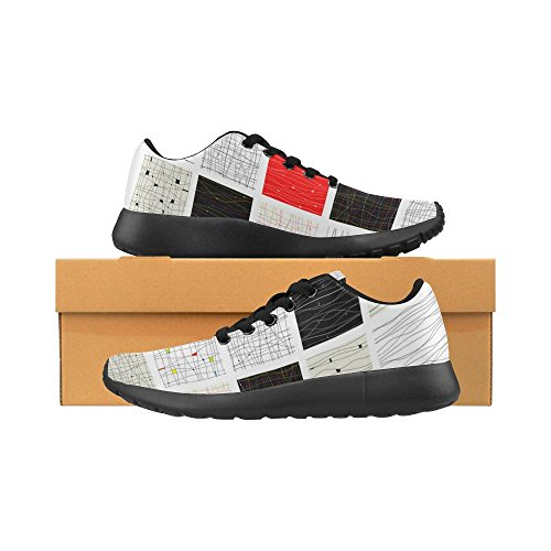 Womens Shoes Running Walking 1 Sneaker Jogging Lightweight Sports Athletic Multi InterestPrint dEWqAZwOE