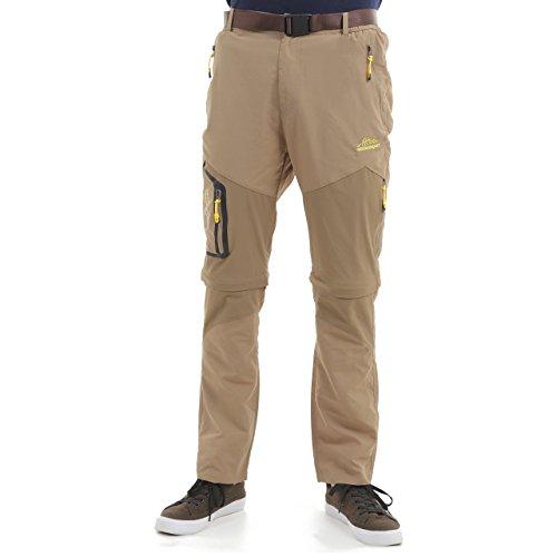 初期の熱ブランドi-loop 2way ドライパンツ ハーフパンツ コンバーチブル 速乾 透湿 通気 軽量 フィッシング パンツ メンズ