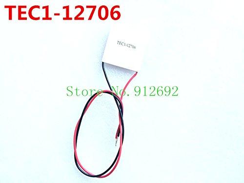 BeediY 5PCS/LOT TEC1-12706 12706 TEC Thermoelectric Cooler Peltier 12V 4040mm of semiconductor Refrigeration TEC1 12706