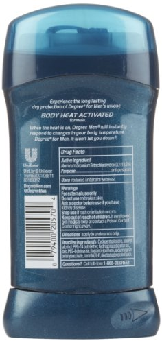 Degree for Men Anti-Perspirant & Deodorant, Cool Comfort, 2.7 Oz