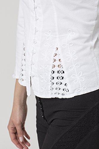 La Mujer Camisas Para Blanco Cotonniere rrwzqHT