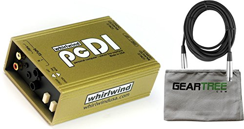 Whirlwind pcDI Direct DI Box w/ Cleaning Cloth and Cable by Whirlwind