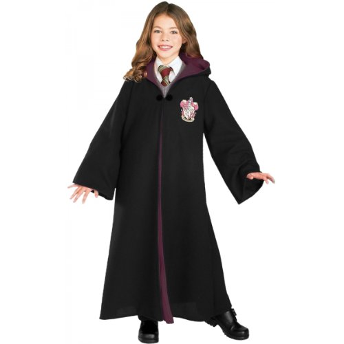 Best Halloween Themed Movies Of All Time (Rubie's Deluxe Harry Potter Child's Costume Robe with Gryffindor Emblem,)