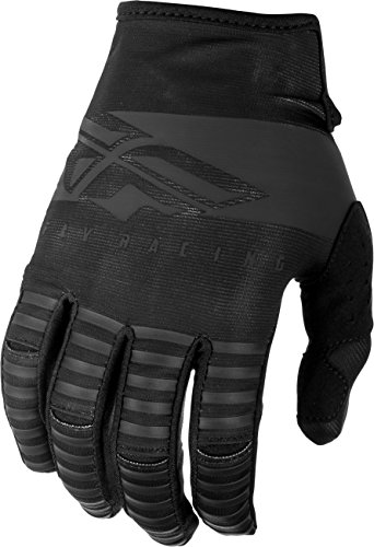 Fly Racing 2019 Kinetic Gloves - Shield (LARGE) (BLACK)