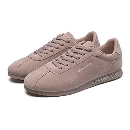 Caqui Zapatos Malla Casual Transpirable De Entrenamiento Libre Hombres Cómodas Zapatillas Deportivos Con Correr Al 40 Forro Para Calzado Aire Estilo U4wR1wqp