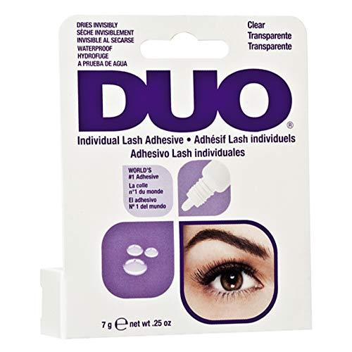 DUO Individual Lash Adhesive, for False Individual Lashes, Clear, 0.25 oz