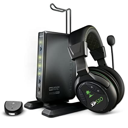 Turtle Beach Ear Force XP510 BS-2290-01 5.1 Wireless Surround Sound Gaming  Headset 29a8a696a2