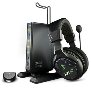 Turtle Beach XP510 Diadema Negro, Verde auricular con micrófono - Auriculares con micrófono (Consola