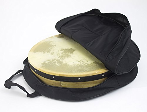 16'' Diameter Plain Irish Starter Bodhran Pack- Includes Beater & Carry Case by Pro Kussion