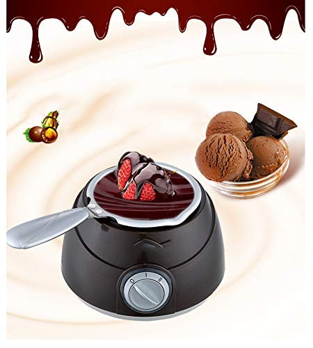 CGOLDENWALL Personalized Chocolate Fountain Machine Home Mini Electric Heating Fondue Constant Temperature Homemade Chocolate Melting Pot by CGOLDENWALL (Image #4)