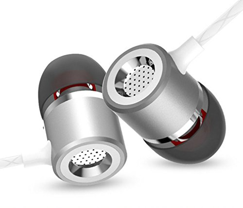 S1 Earbuds In-Ear Metal Earphones Stereo Bass 3.5mm Headphones with - Aurora In Malls Outlet