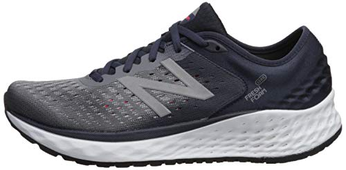 New Balance Men's 1080v9 Fresh Foam Running Shoe, Gunmetal/Outerspace/Energy red, 7 W US by New Balance (Image #5)