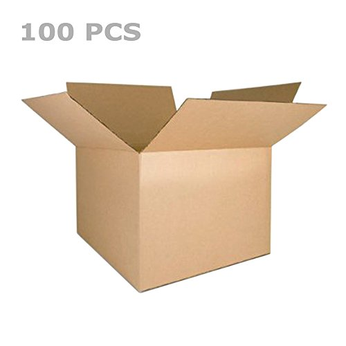 - Proelectric 8x6x4 100 PCS 100% Recycled Corrugated Cardboard Box Boxes 8