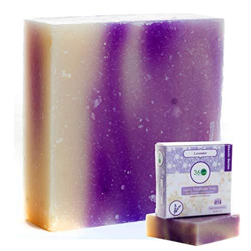 Handmade Soap Floral Lavender Soap 360Feel