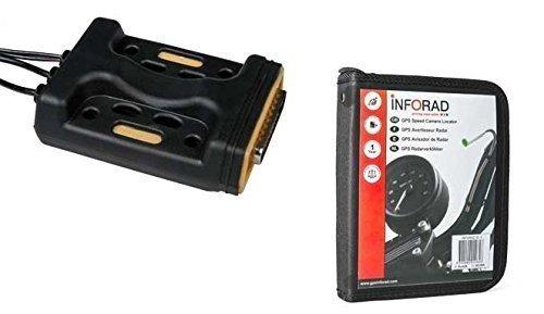 Inforad M1 avisador de radar GPS para motos (Radares GPS para moto) BOX36985