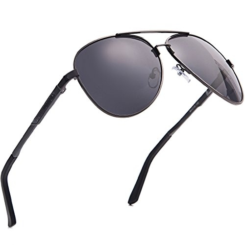 UV400 Polarized Driving Sunglasses Aviator Glasses Goggles - 1