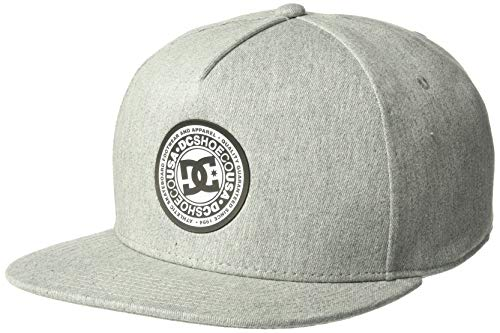 DC Men's Reynotts Trucker Hat, Grey Heather, 1SZ (5 Panel Skateboard Hats)