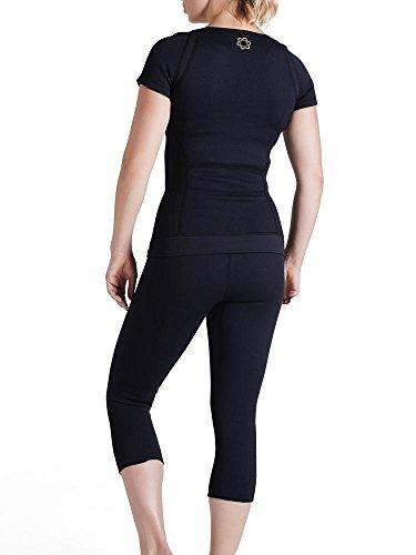 Zaggora Hot Pants 3.0 Capri - Black - Weight Loss Leggings ...
