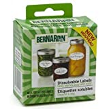 Bernardin Canning Labels - Dissolvable - 60