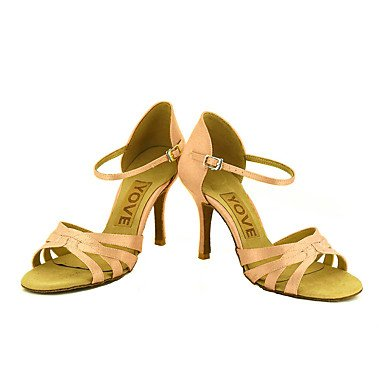XIAMUO Anpassbare Frauen Beruf Tanz Schuhe, Rosa, Us5.5/EU36/UK3.5/CN 35