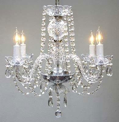 - New! Authentic All Crystal Chandelier Chandeliers H17