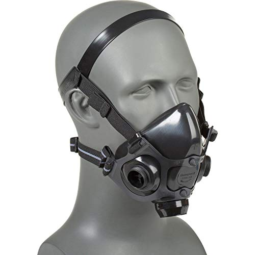 - North Safety 770030L 7700 Series Silicone Half Mask Respirator Large (1 EA) Mask Only