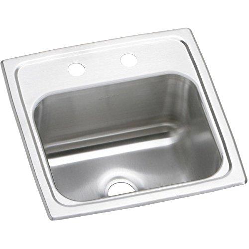 Elkay Pacemaker BPSRQ152 Single Bowl Top Mount Stainless Steel Bar Sink