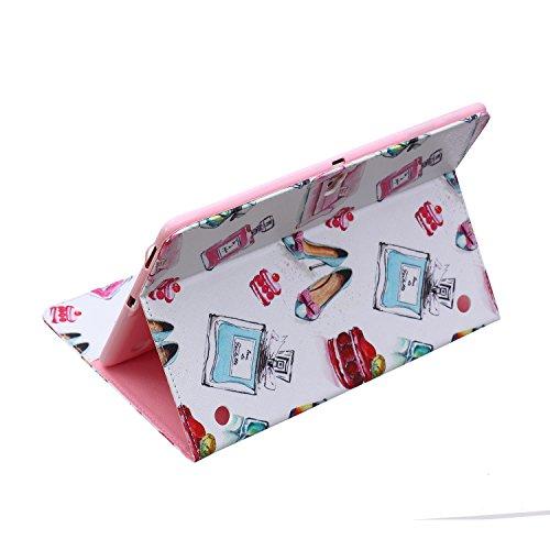 MACOOL PU cuero caja de la carpeta cubierta de la caja de la bolsa en el libro de estilo de silicona de nuevo caso de la pintura del color del teléfono móvil concha protectora Patrón Caja Cubierta de  05 A
