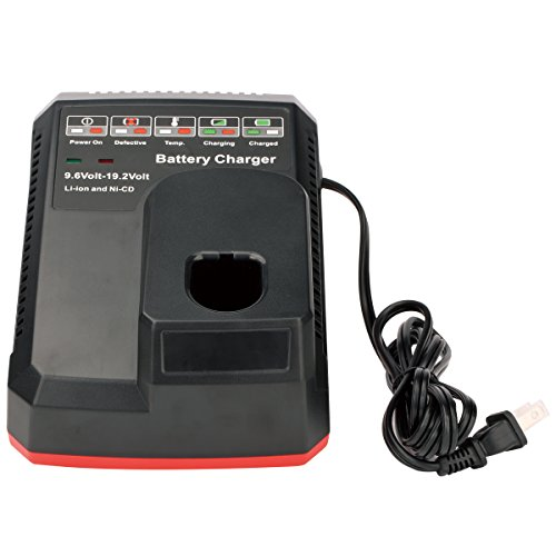 Dual Drill (Biswaye Battery Charger for Craftsman C3 9.6Volt and 19.2 Volt Ni-Cd & Lithium-Ion Battery)