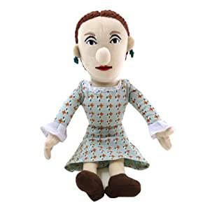 Virginia Woolf Plush Doll - Little Thinkers by The Unemployed Philosophers Guild