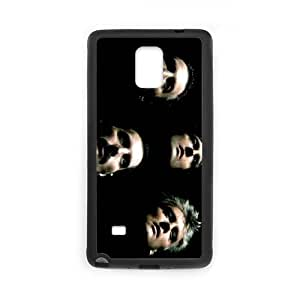 Samsung Galaxy Note 4 Cell Phone Case Black Queen Band oijrv