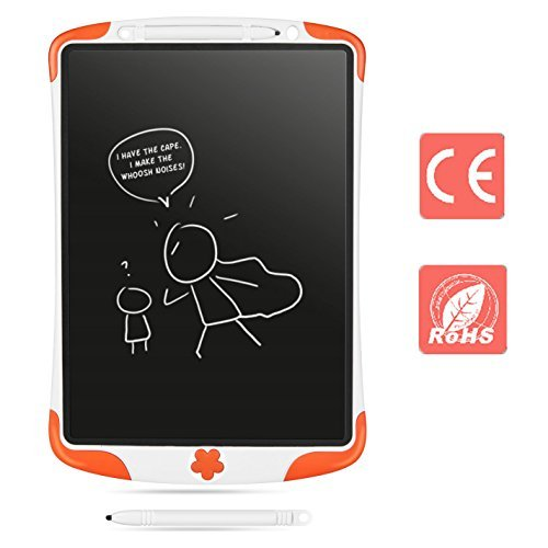 ZOCY LCD Writing Tablet For Kids 12 Inch Drawing Board Touch Pad Office Memo Board Magnetic Fridge Message Whiteboard