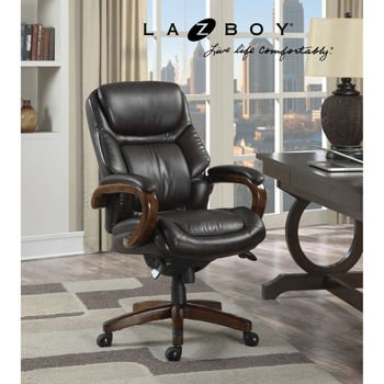 la-z-boy-kendrick-executive-office-chair-heavy-duty-60-mm-casters-offer-smooth-mobility