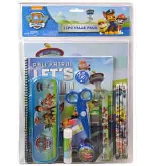Paw Patrol Value Pack Stationary 11pc [Contains 1 Manufacturer Retail Unit(s) Per SKU# 63202MZ ()
