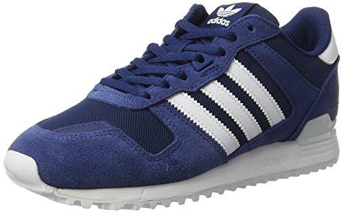 bianche blu blu basse Sneakers misterioso blu 700 Adidas scarpe Zx scuro uomo c7f4qW6A