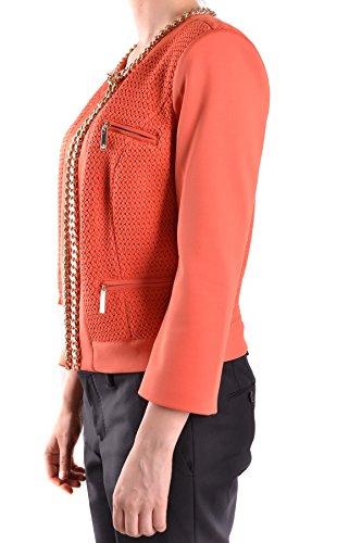 Mcbi113078o Outerwear Franchi Poliestere Giacca Elisabetta Arancione Donna AqInPvEwx