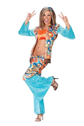 Hippie Chic Costumes (HIPPIE CHIC MEDIUM LARGE)