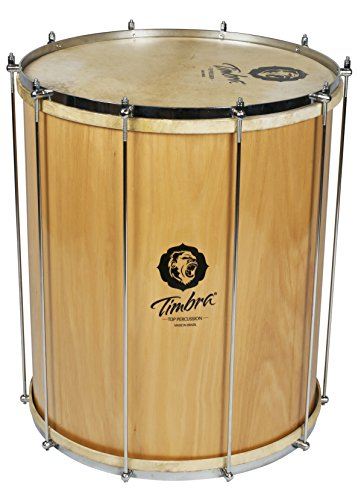 TIMBRA 8238 18 inch Wood Surdo with Natural Injected Head