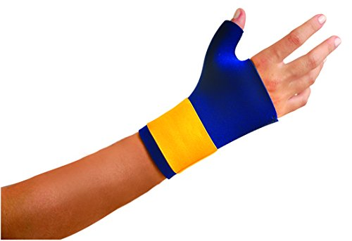 OccuNomix 400-014 Classic Neo Thumb/Wrist Wrap, Large, Navy by OccuNomix