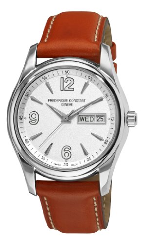 Frederique Constant Men s FC-242S4B26 Junior Silver Day Date Dial Watch